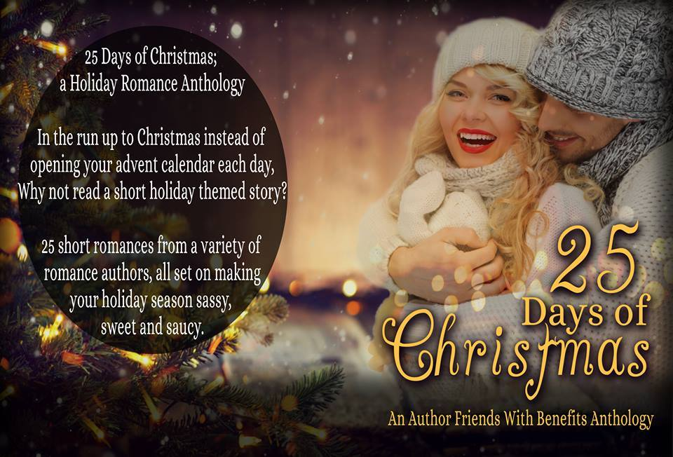 Book Cover Reveal: 25 Days of ChristmasAnthology