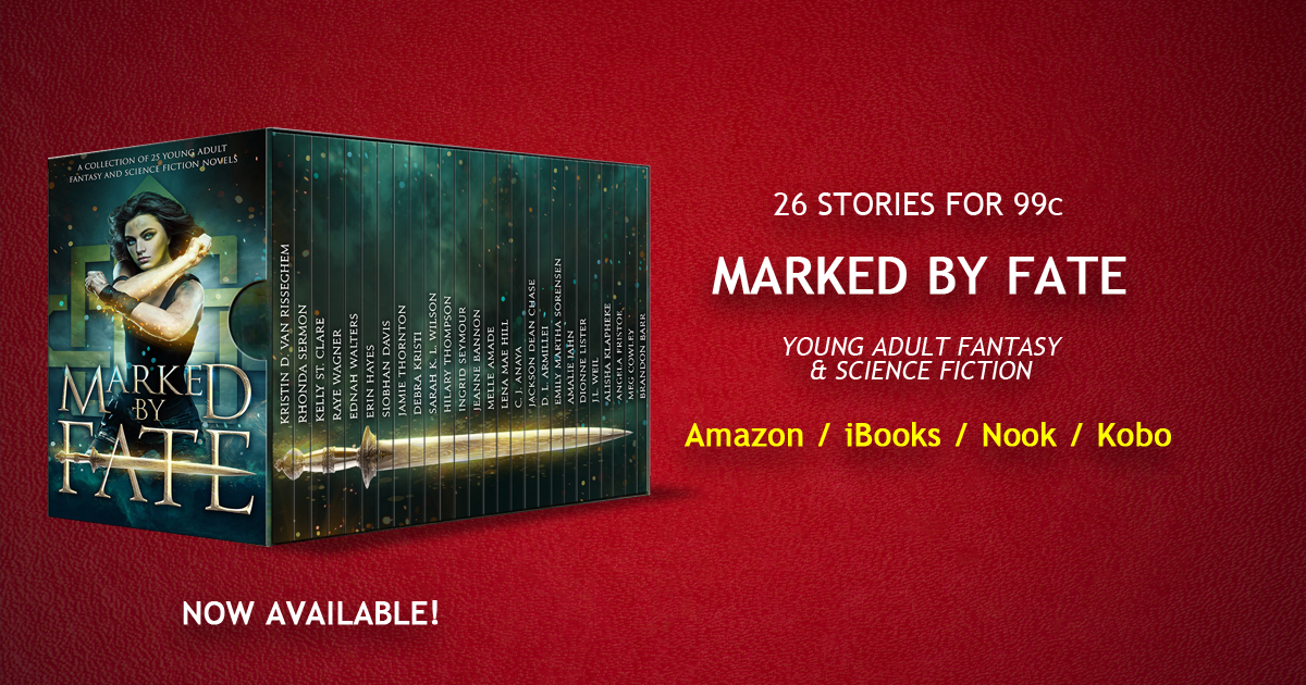 Book Blitz: Marked by Fate (A Young Adult Fantasy and Science FictionCollection)