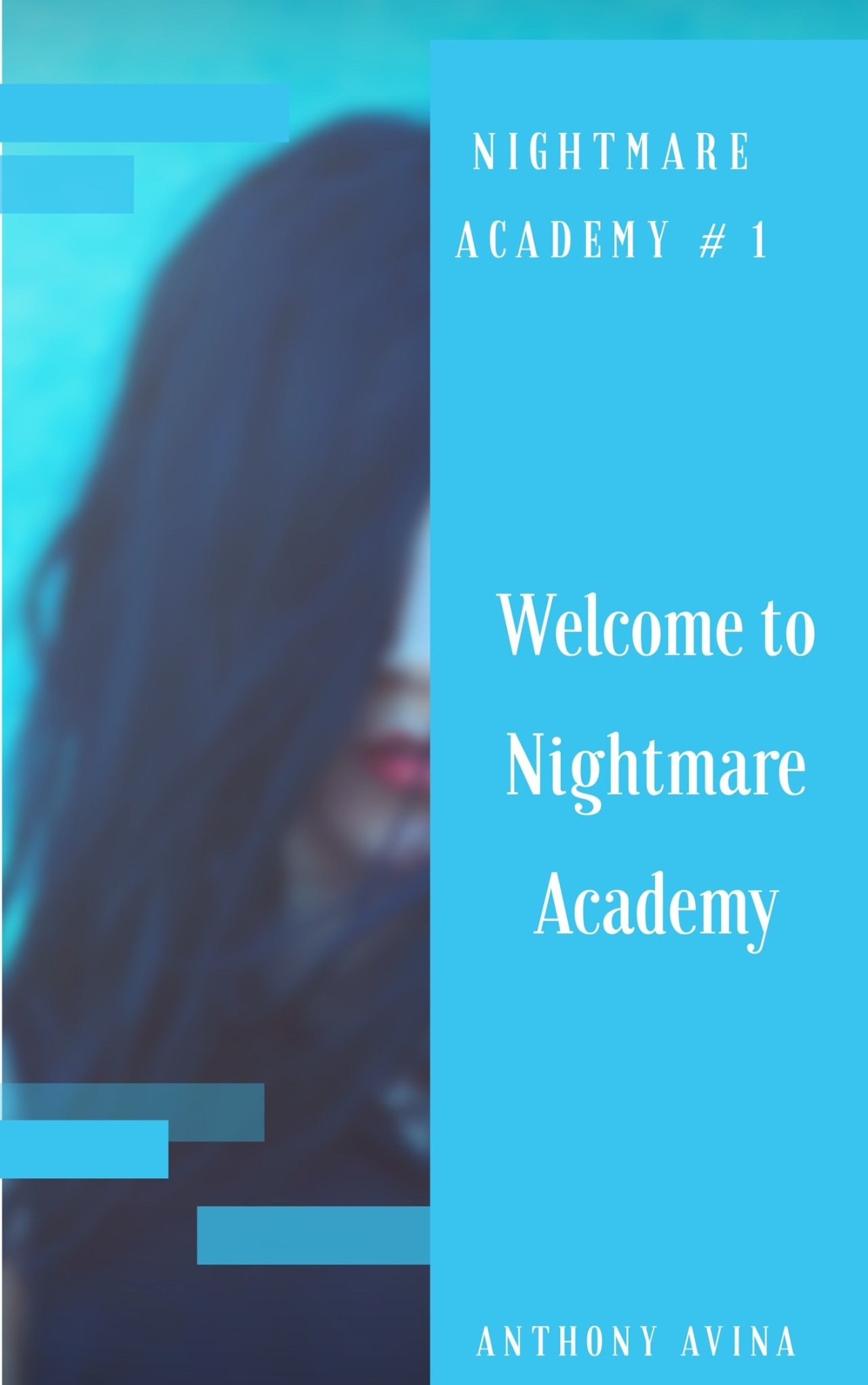 Welcome to Nightmare Academy Book Cover Kindle Edition