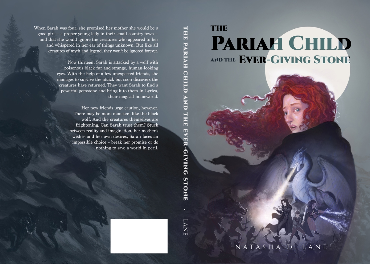 Blog Tour: The Pariah Child & The Ever-Giving Stone by Natasha D. Lane