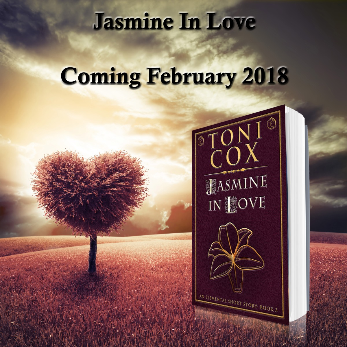 Book Blitz: Jasmine in Love by Toni Cox