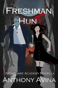 FRESHMAN HUNT Book Cover Professional Art