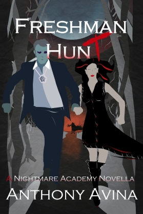 FRESHMAN HUNT Book Cover Professional Art