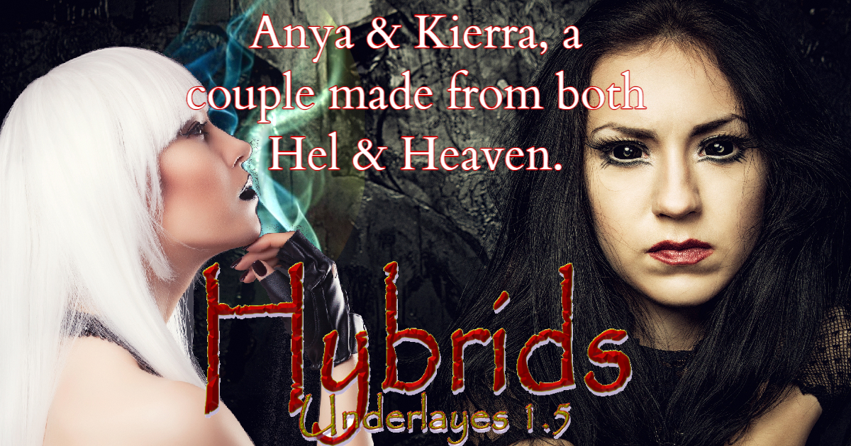 Release Blitz & Giveaway: Hybrids (Underlays #1.5) by T.A. Moorman