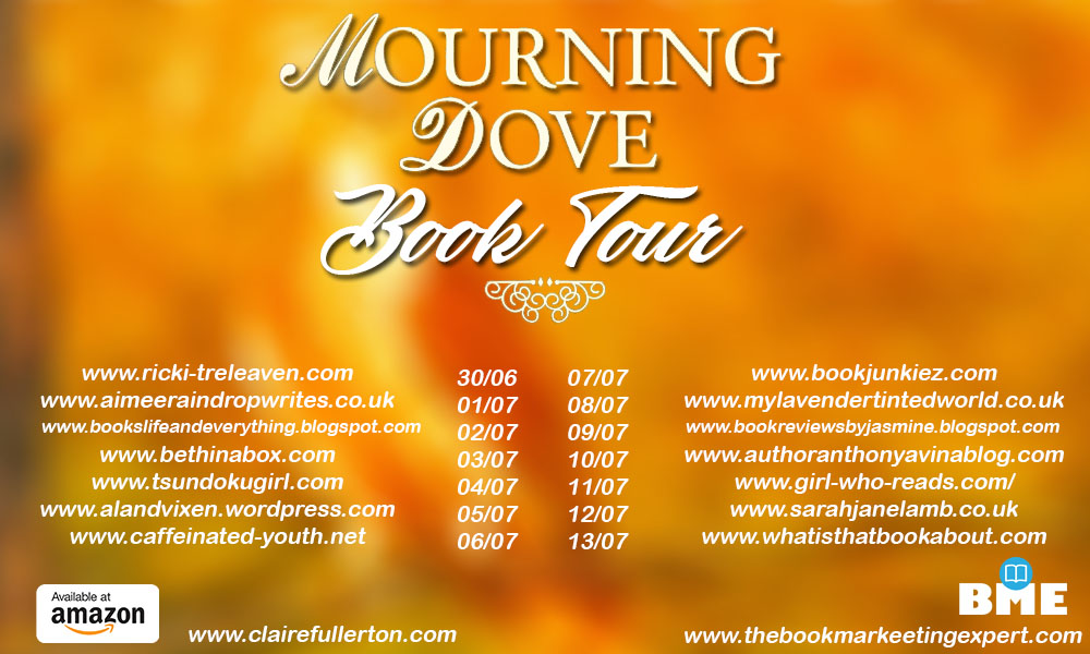 Blog Tour: Mourning Dove by Claire Fullerton (Excerpt)
