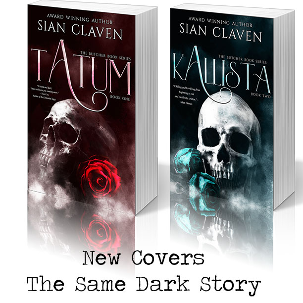 The Butcher Book Series by Sian Claven Cover Reveal