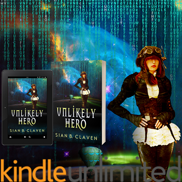 Unlikely Hero by Sian B. Claven Promotional Post